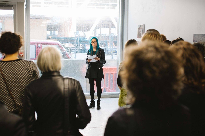 Socorra sharing her powerful speech - her story